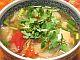 パイナップルとトマトのスープ ベトナム風