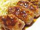 豚小間肉を使ったソーセージ風焼肉