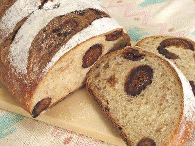 いちじくのパン(ヨーグルト酵母)
