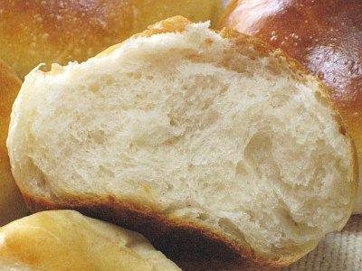 牛乳たっぷりのプチパン(ヨーグルト種)