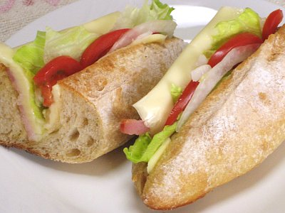 フィセルでサンドイッチ