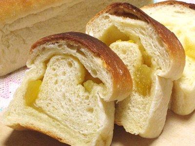 栗きんとんを使った食パン