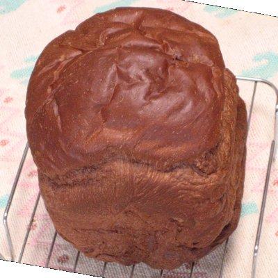 しっとりチョコ食パンミックス焼き上がり