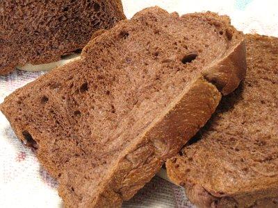 しっとりチョコ食パン