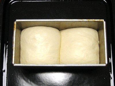 食パン二次発酵