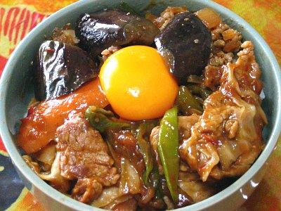 回鍋肉(ホイコーロー)丼