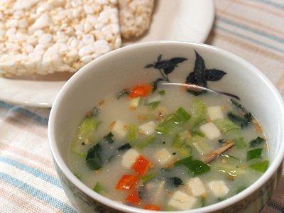 豆乳鍋風スープ