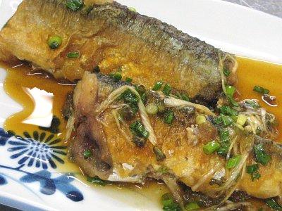 秋刀魚の焼きづけ