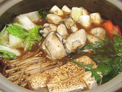 牡蠣のどて鍋