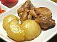 鶏肉とかぶの煮物