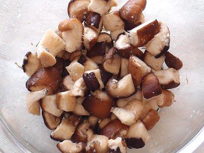 塩糀+椎茸
