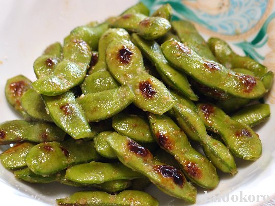 枝豆の塩糀炒め