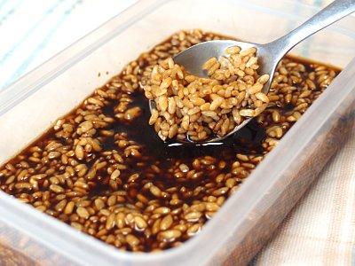 醤油麹 (しょうゆこうじ)の仕込み