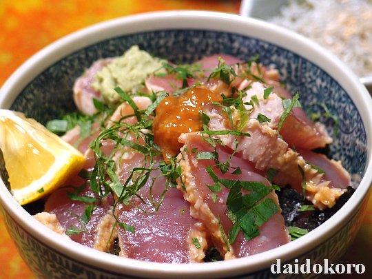 醤油麹(しょうゆ麹)でマグロのづけ丼