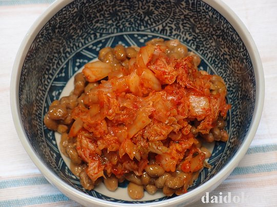 納豆+キムチ
