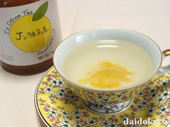J's 柚子茶 premium | 韓国世界のグルメ@キムチでやせる