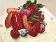 クリスマスは手作りケーキ「苺のミルキードーム」 / cuoca