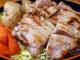 鶏もも肉の塩酒粕焼き