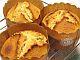 クランベリーのマフィン(ヨーグルト酵母種)