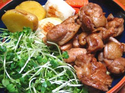 鶏肉のソテー バルサミコ風味
